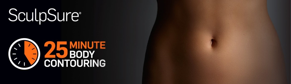 Sculpsure 25 minute Body Contouring Banner