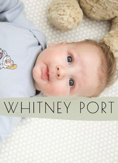"""image of baby with text overlay reading """"whitney port"""""""