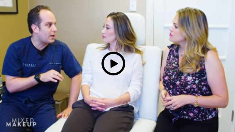 How to close up a belly button piercing with Dr Gabbay